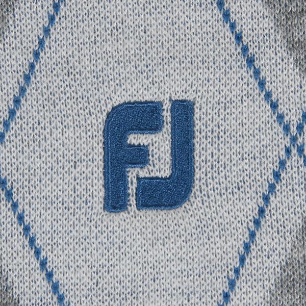 フットジョイ(FootJoy) F17M61アーガイルセーターWT/GY(Men's)