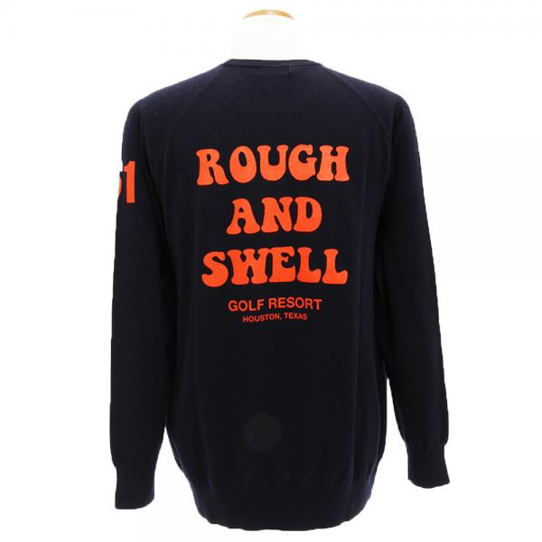 ラフ&スウェル(rough&swell) Maurice Knit RSM-17211NV(Men's)