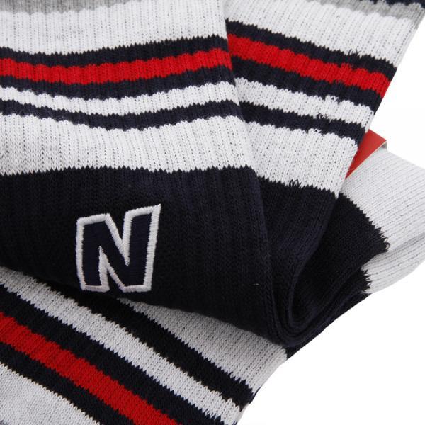 ニューバランス(new balance) ライン&Nミドルソックス 012-7286018-120(Men's)