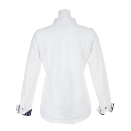 パーセッタンタドゥエ(PAR72) ダブルジャガードシャツ 30564077F-112WHT(Lady's)