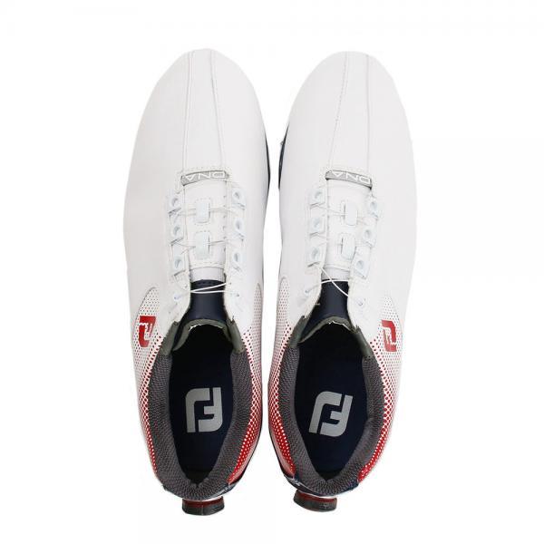 フットジョイ(FootJoy) ゴルフシューズ DNA ボア WT/RD/NV 53331W(Men's)