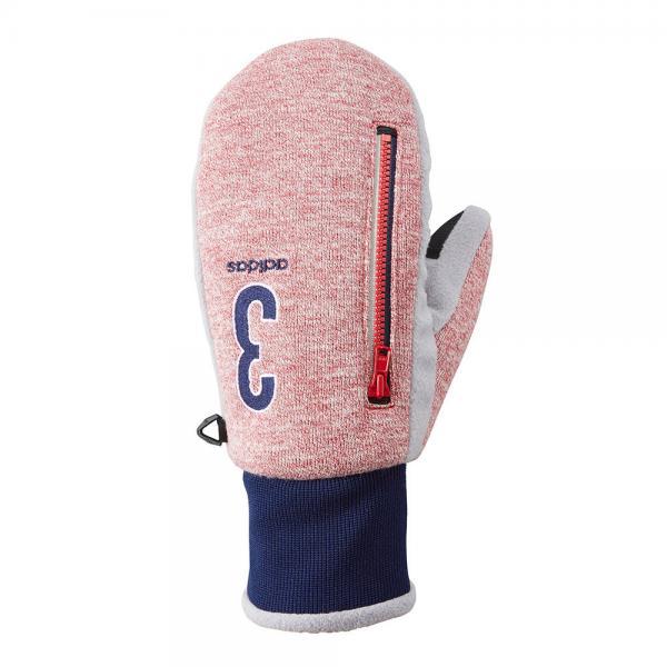 アディダス(adidas) SP ウォームペアミトン17 CCR00-N68452-レッド-17FW(Men's)