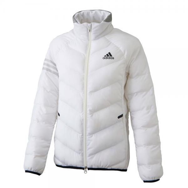 アディダス(adidas) ウォームライトストレッチジャケット CCQ22-N68176ホワイト(Lady's)