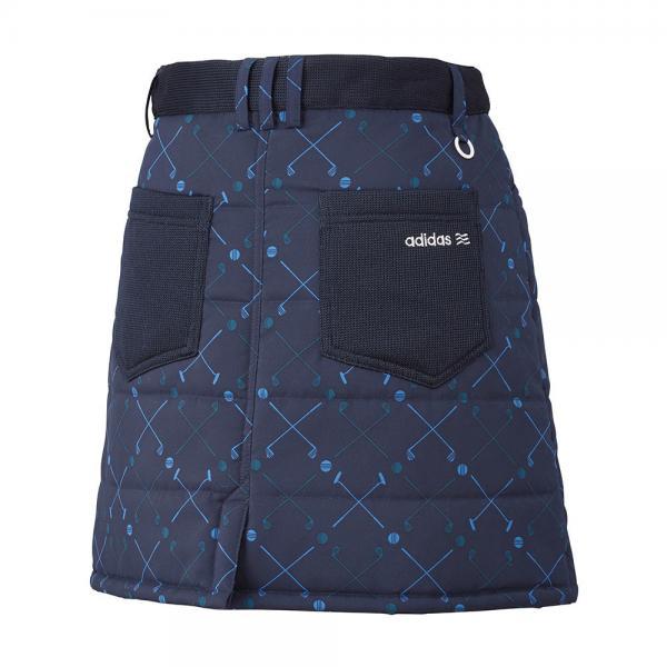 アディダス(adidas) クラブチェックプリントスタッフドスコート?CCQ47-N68269ネイビー(Lady's)