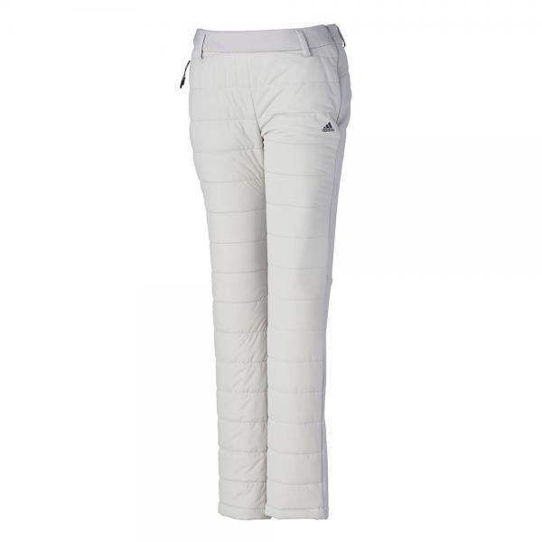 アディダス(adidas) CLIMASTORM ストレッチハイブリッドスタッフドパンツ EMF49-CF5785グレー(Lady's)