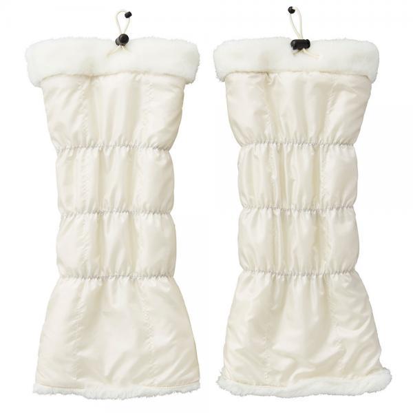 アディダス(adidas) リバーシブル ウーブンコンビレッグウォーマー CCQ94-N68434ホワイト(Lady's)