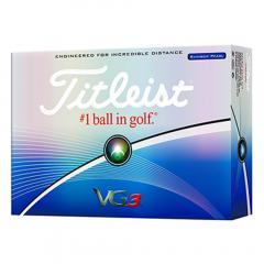 タイトリスト(TITLEIST) VG3 ゴルフボール レインボーパール T3024S(Men's)