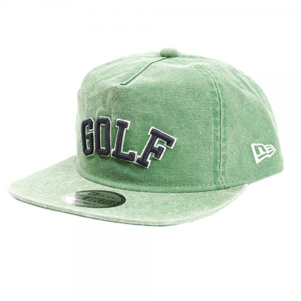 ニューエラ(NEW ERA) The Golfer GOLF ダックキャンバス イタリアンウォッシュ キャップ 11557065(Men's)