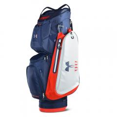 アンダーアーマー(UNDER ARMOUR) UA Storm Armada Cart Bag キャディバッグ 1317087 ADY/WHT(Men's)
