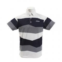 タイトリスト(TITLEIST) ゴルフウェア メンズ 3カラーブロック 半袖ポロシャツ TSMC1925NV(Men's)