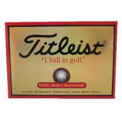 タイトリスト(TITLEIST) ゴルフボール タイトリスト HVC SOFT DISTANCE 05 1HVSD-J 05 1ダース(12ヶ)(Men's、Lady's、Jr)
