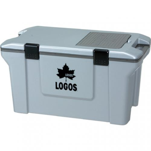 ロゴス(LOGOS) アクションクーラー50 グレー 81448011 キャンプ バーベキュー(Men's、Lady's)