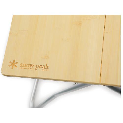 スノーピーク(snow peak) Myテーブル 竹 LV-034T キャンプ用品 バーベキュー(Men's、Lady's)