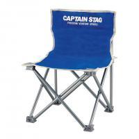 キャプテンスタッグ(CAPTAIN STAG) パレット コンパクトチェア ミニ M-3916 マリンブルー 折りたたみ椅子 キャンプ(Men's、Lady's)
