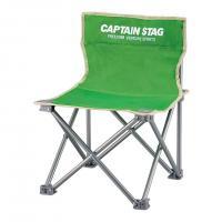 キャプテンスタッグ(CAPTAIN STAG) パレット コンパクトチェア ミニ M-3917 ライトグリーン 折りたたみ椅子 キャンプ(Men's、Lady's)