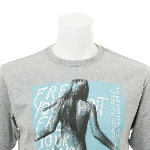 ボルコム(Volcom) ボルコム FREE DAZE S/S メンズウェア インナー Tシャツ 半袖 A3511512 グレー(Men's)