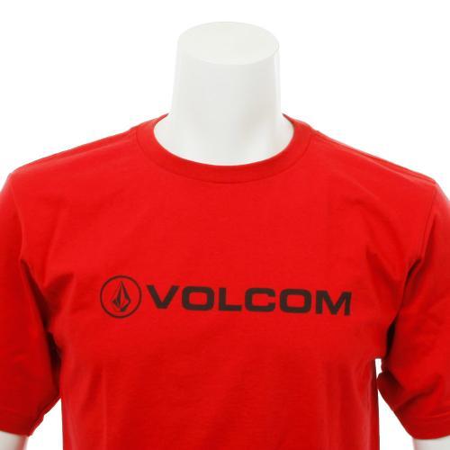 ボルコム(Volcom) New Style S/S A3511520 レッド Tシャツ 半袖 Tシャツ 半袖