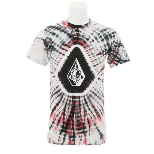 ボルコム(Volcom) ボルコム Spitfire X Volcom Dye Washed Tee FREE DAZE S/S メンズウェア インナー Tシャツ 半袖 A4311541 ブラック(Men's)