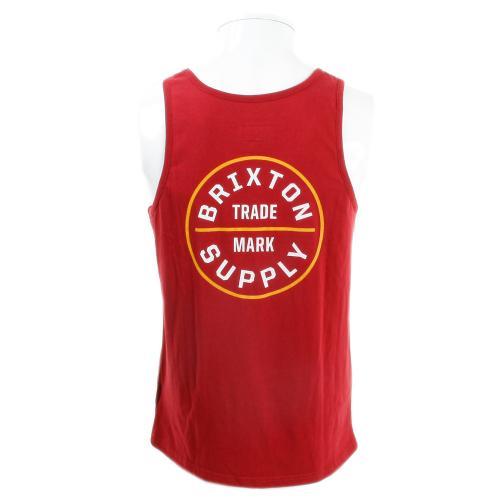 BRIXTON OATH メンズ トップス タンクトップ 401-06300-0100 BUG(Men's)