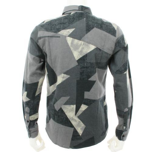ボルコム(Volcom) MORRIS L/S メンズ ウェア シャツ 長袖 A0531506 DGR(Men's)