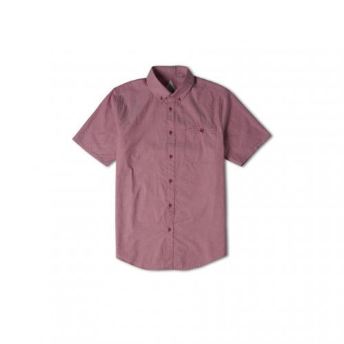 ALTAMONT ボウドエスエスウーヴェン メンズ トップス 半袖シャツ AT15S1758 BURGUNDY(Men's)