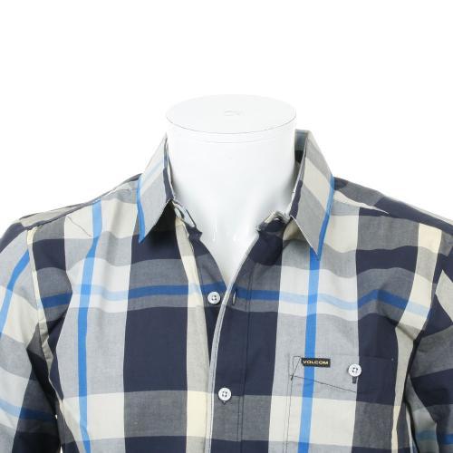 ボルコム(Volcom) Campton A0421502 メンズ ウェア シャツ 半袖(Men's)