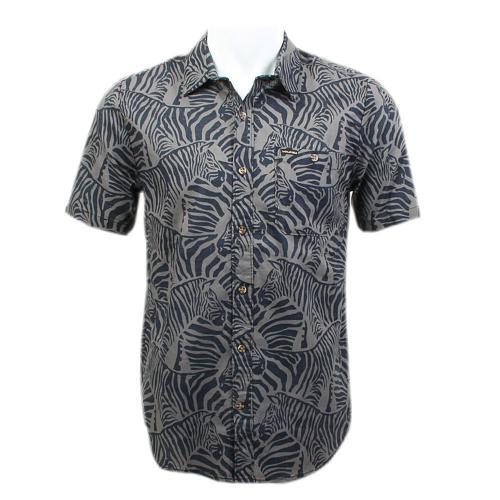 ボルコム(Volcom) Zeebro A0421504 メンズ ウェア シャツ 半袖(Men's)