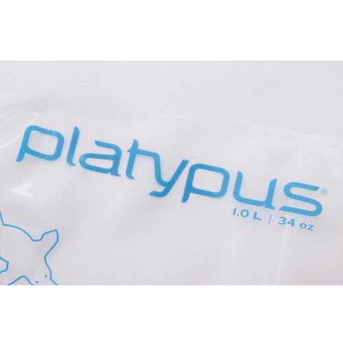 プラティパス ソフトボトル 1.0L SoftBottle 1.0L 25248 Logo 水筒(Men's、Lady's)