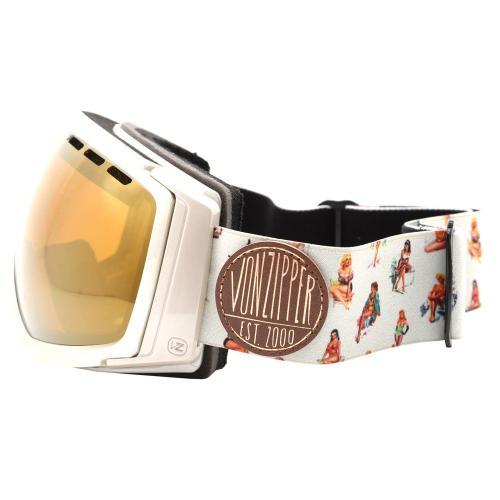 ボンジッパー(Von Zipper) FEENOM AF21M702 GCC スノー ゴーグル スキーゴーグル スノーボードゴーグル(Men's)