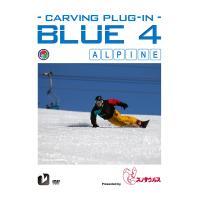 アクションムービー スノーボードDVD BLUE 4 CARVING PLUG-IN htsb0203(Men's、Lady's)