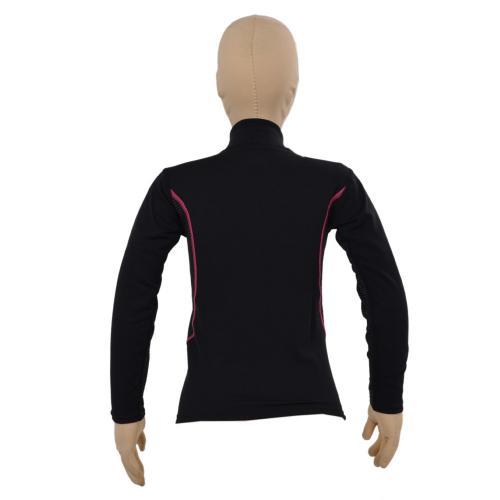 ミズノ(MIZUNO) ブレスサーモミッドウェイト ハーフジップシャツ Z2JA592076 120サイズ 子供 インナー アンダーシャツ ピンクST スキー(Jr)
