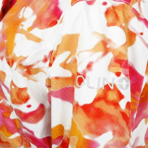 オーリン(OLIN) ヒートクロス HEAT-X WPRINT FR JK レディース スキーウエア ジャケット 317ON6DX1259 PNK ピンク(Lady's)