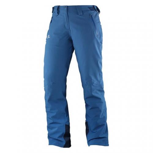 サロモン(SALOMON) JP ICEGLORY PANT W レディース スキーウエア パンツ 376490 D BL ブルー(Lady's)