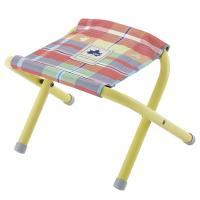 ロゴス(LOGOS) チェッカースツール レッド 73175030 折りたたみ椅子 キャンプ バーベキュー(Men's、Lady's)