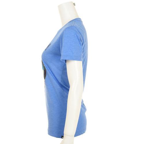 ハーレー(HURLEY) レディース 半袖 Tシャツ FLAMINGO LGN PCTCREW GTSPFLGN(Lady's)