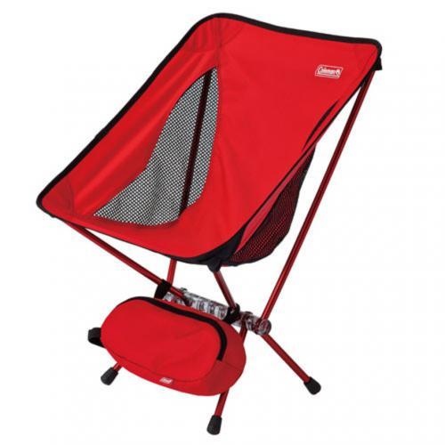 コールマン(Coleman) リーフィーチェア 折りたたみ椅子 2000027854 レッド(Men's、Lady's)