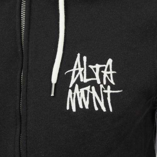 ALTAMONT STACKED LOGO ZIP メンズ トップス パーカー AT16F2139 BLACK / WHITE(Men's)