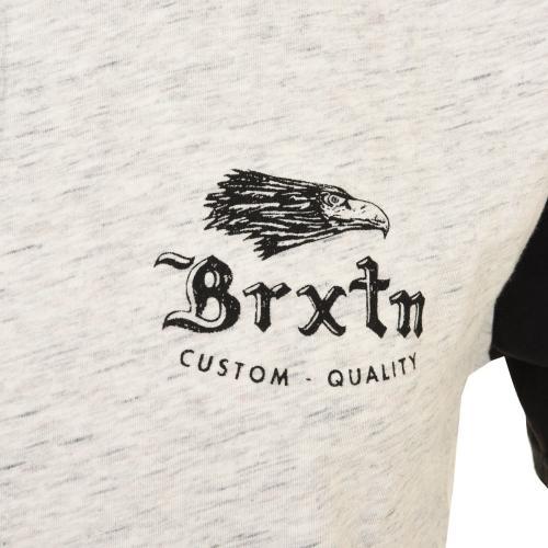 BRIXTON FLIER S/S HENLEY メンズ トップス 半袖ヘンリーネックTシャツ 402-06300-0200 H-STONE(Men's)