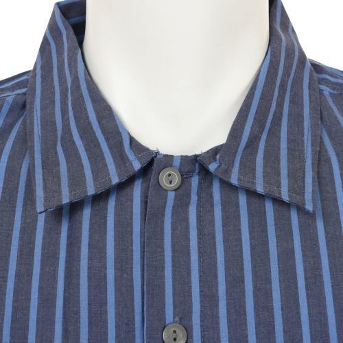 BRIXTON BLAKE S/S WVN メンズ トップス 半袖シャツ 404-06300-0100 BLUE(Men's)