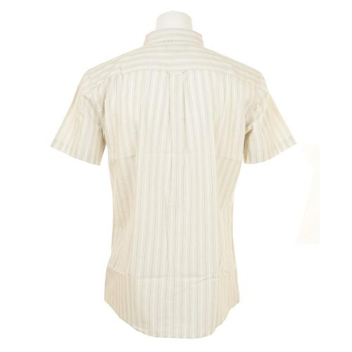 BRIXTON ARTHUR S/S WOVEN メンズ トップス 半袖シャツ 404-06300-0100 OFF WHITE(Men's)
