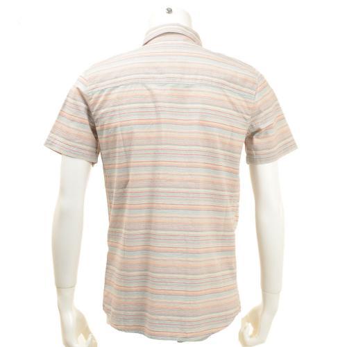 ボルコム(Volcom) メンズ ウェア ボーダー シャツ 半袖 LEDFIELD A0411651(Men's)