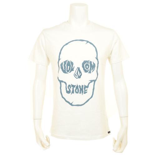 ボルコム(Volcom) TUFF SKULL S/S TEE VA353116G1 メンズ ウェア インナー Tシャツ 半袖(Men's)