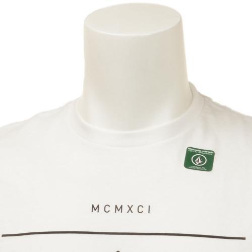ボルコム(Volcom) DUN S/S TEE プリントロゴ メンズ ウェア インナー Tシャツ 半袖 A5011601(Men's)