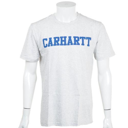カーハート(CARHARTT) メンズ 半袖 ロゴプリントTシャツ S/S COLLEGE LT T-SHIRT I01848648290(Men's)