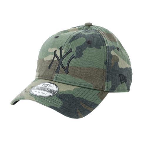 ニューエラ(NEW ERA) 9TWENTY Cloth Strap ウォッシュドコットン ニューヨーク・ヤンキース ウッドランド 11308519 (Men's)