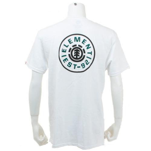 エレメント メンズ ロゴ メンズ ウェア インナー Tシャツ 半袖 AG021219(Men's)