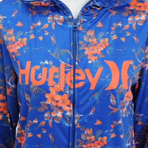ハーレー(HURLEY) ハーレー HURLEY レディース ラッシュ FULL ZIP オープンフードO&O ラッシュガード GKHZLY56(Lady's)