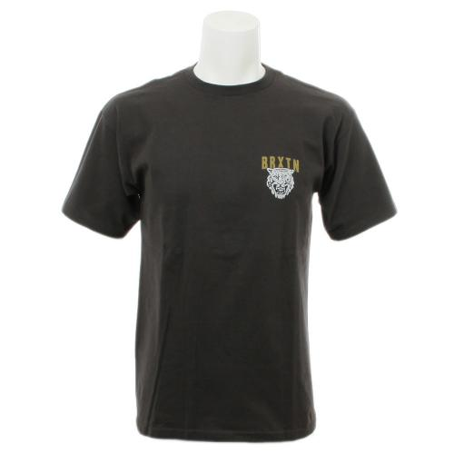 BRIXTON RONAN S/S TEE メンズ トップス 半袖Tシャツ 402-06300-0100 WASHED BK/GD(Men's)