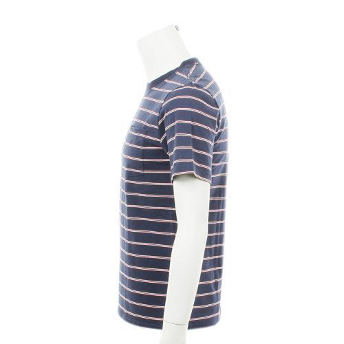 BRIXTON HILT WASHED S/S POCKET KNIT メンズ トップス 半袖Tシャツ 402-06300-0200 WHT/NAVY/RED(Men's)