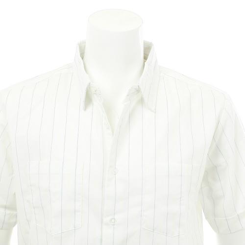 BRIXTON BRANSON WOVEN メンズ ウェア ストライプシャツ 半袖 404063000100(Men's)